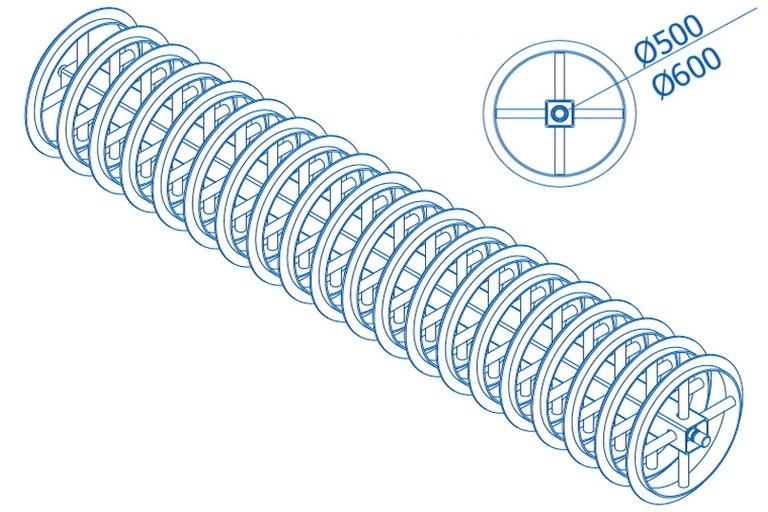 T-gyűrűs henger